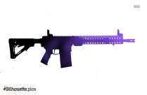 Famas Rifle Weapon Clip Art, Gun Silhouette