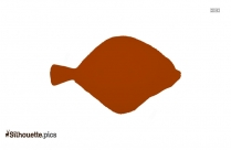 Green Ling Cod Fish Silhouette Art