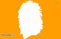 Lion Head Clip Art, Silhouette
