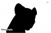 Cartoon Hippopotamus Silhouette