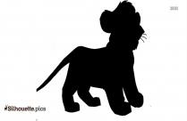 Circus Lion Silhouette Picture
