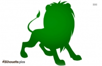 Lion Silhouette Art