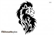 Lion Tattoos Silhouette