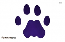 Paw Clipart Silhouette