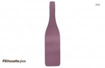 Flat Bottom Flask Silhouette Art