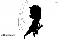 Cartoon Boy Silhouette Drawing