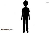 Crying Boy Clipart Silhouette
