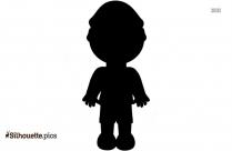 Little Boy Silhouette Clipart