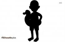 Teddy Doll Silhouette