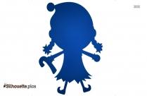 Cartoon Girl Silhouette Pic