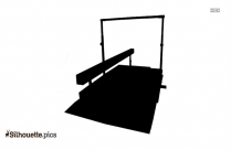 Gymnastics Equipment Silhouette Image And Vector