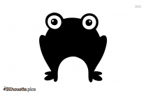Best Frog Silhouette Clipart Image