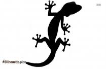 Lizard Clipart PNG Transparent Image Silhouette