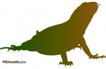 Lizard Silhouette Icon
