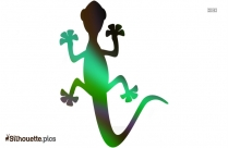 Lizard Drawing Silhouette Image