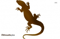 Lizard Silhouette Image And Vector Art