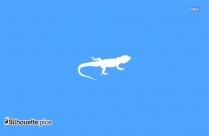 Chameleon Silhouette Clipart