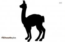 Llama Art Silhouette