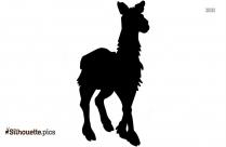 Llama Drawing Silhouette Free Vector Art