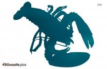 Lobster Cartoon Silhouette
