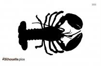 Lobster Clip Art Vector Silhouette