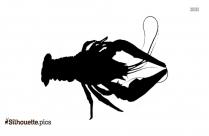 Lobster Silhouette Art