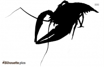 Lobster Silhouette Vector Icon