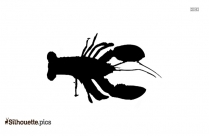 Lobster Species Silhouette Icon