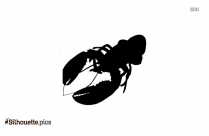Lobster Silhouette Illustration