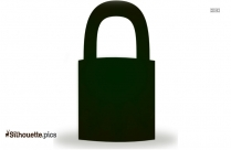 Lock Clipart Png Silhouette