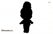 Cute Girl Clipart Silhouette