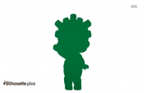 Girl Doll Symbol Silhouette