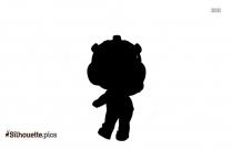 Teddy Doll Symbol Silhouette