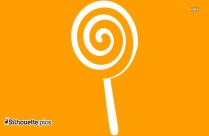 Lollipop Clipart Silhouette