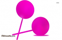 Lollipops Clip Art Silhouette