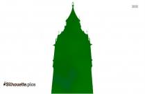 London Clock Tower Silhouette Image