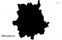 London Map Silhouette