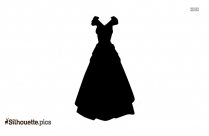 Medieval Costume Vector Silhouette