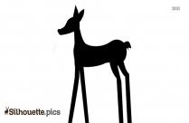 Simple Giraffe Silhouette