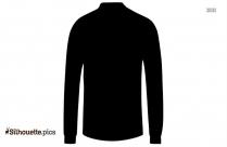 Long Sleeves Silhouette Vector