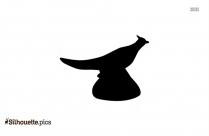 Female Duck Silhouette