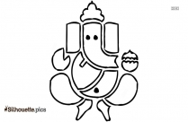Lord Ganesha Hd Wallpapers Silhouette