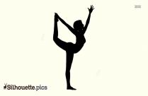 Lord Of The Dance - Yoga Silhouette
