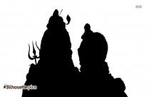 Man Praying God Clipart Silhouette
