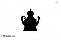 Shiva Parvathi Silhouette