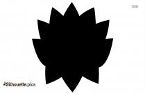 Green Chrysanthemum Logo Silhouette For Download
