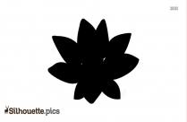 Silhouette Fleur De Lotus