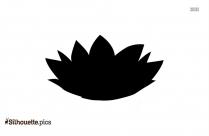 Simple Flower Vase Silhouette