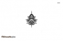 Tribal Tattoo Design Clip Art Silhouette