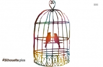 Bird Cage Silhouette Images
